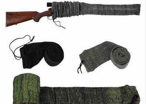 ◆送料無料◆散弾銃カバー◆ライフルカバー◆ガンソックス◆黒色◆クレー射撃◆狩猟◆ベレッタ◆レミントン◆M870◆Remington