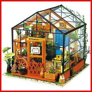 Robotime ドールハウス 3Dパズル ミニチュア DIY 木製 LED付き 子供 おもちゃ オモチャ 知育玩具 男の子 女の子 大人 入園祝い 新年 ギフト
