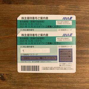 ANA 全日空 株主優待券 2枚