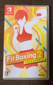 新品未開封品  フィットボクシング2 Nintendo Switch