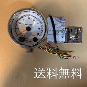 tachometer shift light attaching free shipping unused goods 1~8 cylinder for search ( custom pivot auto gauge auto meter Toyota Honda Nissan )