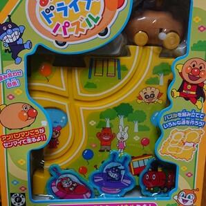 [新品未使用]アンパンマン あちこち ドライブ パズル おもちゃ