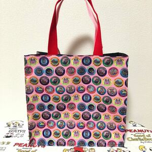 ハンドメイドバッグ 紙袋型バッグ トートバッグ ディズニー ミキミニ ミッキー