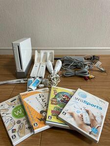 Nintendo Wii 本体セット ソフト付