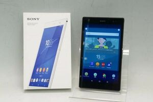 SONY Xperia Z3 Tablet Compact SGP611 ブラック アンドロイド エクスペリア タブレット Android:6.0.1 000V052