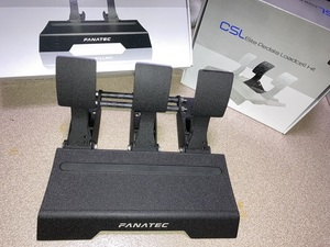 【中古】 FANATEC CSL Elite Pedals + CSL Elite Pedals Load Cell Kit(ロードセル3ペダル)