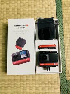 Insta 360 one R運動カメラ360度版