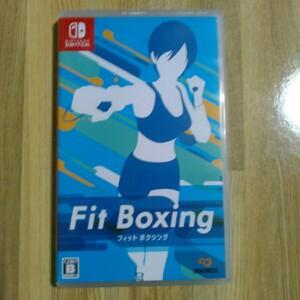 フィットボクシング  Nintendo Switch ニンテンドースイッチ  Switchソフト FIT BOXING