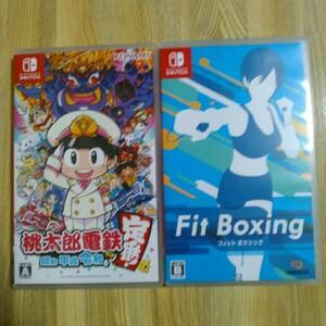 桃太郎電鉄 フィットボクシング ニンテンドースイッチ Nintendo Switch