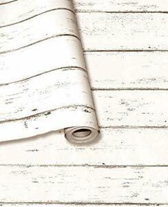 【期間限定】白エンボス木目 [Isdy] 壁紙 シール はがせる 壁紙 リメイク シート リフォーム ウォール ステッカー SY99