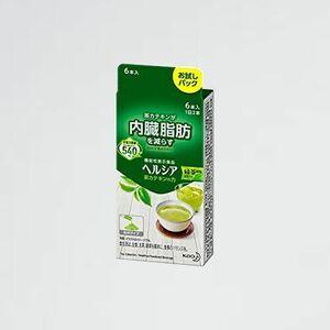 新品 好評 茶カテキンの力 【機能性表示食ヘルシア G-ZN 緑茶風味 スティック(内臓脂肪が気になる方に)【マイカップヘルシア】×6本