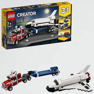 新品 未使用 クリエイタ- レゴ(LEGO) D-4S 女の子 男の子 シャトル輸送機 31091 知育玩具 ブロック おもちゃ