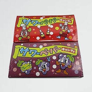 新品 目玉 サワ-ペ-パ-キャンディ やおきん X-CR + グレ-プ(36袋入)のセット品 コ-ラ(36袋入)
