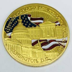 R110 米元大統領オバマ 2009年 アメリカ 大型金貨  量目28.63g