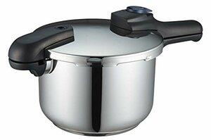 新品マルチ 圧力鍋 5.5L パール金属 圧力鍋 5.5L IH対応 3層底 切り替え式 レシピ付 クイックエコ H53ID