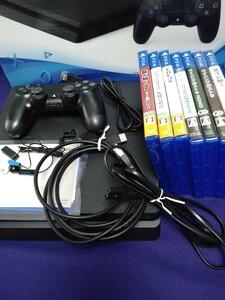 PS4 本体 ソフト7本付 動作確認済