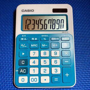 カシオ CASIO 電卓 金融電卓 時間計算 MW-C11A