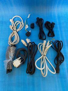 電源ケーブル 電源コード 3ピン パソコン関係 ケーブル色々 DVI Mac用
