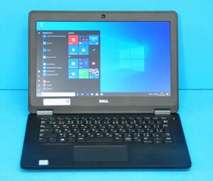 ♪ 良品 上位モデル Latitude 7250 ♪ Core i7 5600U / メモリ8GB / SSD:256GB / カメラ / Wlan / Office2019 / Win10