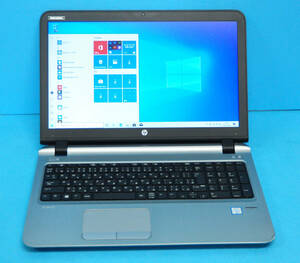 ★ ProBook 450 G3 ★ 大画面15.6 Core i3 6100U / メモリ8GB / HDD 1TB / カメラ / テンキー/ Wlan/ Office2019 / Win10