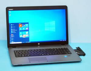 ♪ 良品 上位モデル ProBook 470G2 ♪ Radeon R5 M255搭載 大画面17.3 Corei5 4210U/ メモリ8GB/ 新SSD:256GB/ カメラ/ Office2019/ Win10