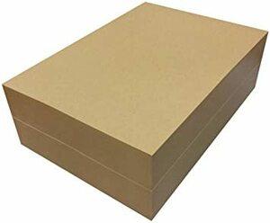 ブラウン 1000枚 ペーパーエントランス クラフト紙 A4 75.5kg 1000枚 プリンター用紙 包装紙 ラッピング ブッ