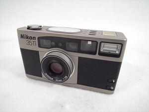 □ Nikon ニコン 35Ti フィルム一眼レフ シャッター切れOK 中古 現状品 211006H4370