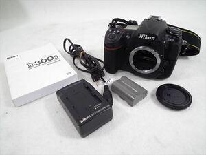 □ Nikon ニコン D300s デジタル一眼レフ 取扱説明書有り AF動作OK シャッター切れOK 中古 現状品 211006H4384