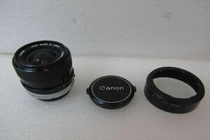 ▼ Canon キャノン レンズ FD 24mm 1:2.8 S.S.C 中古 現状品 211005K4157