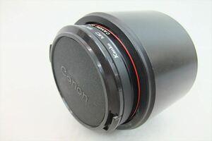 ▼ Canon キャノン レンズ FD 85mm 1:1.2 L 中古 現状品 211005k4155A
