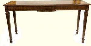 ◆DREXEL HERITAGE/ドレクセルヘリテイジ コンソールテーブル サイドテーブル 作業台 幅135cm 奥行38cm 高さ70cm◆家具 インテリア 高級