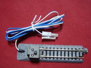 ■KATO DCラインつき信号燈LED赤/青・表示つき 車止め〓引き込み線の確認表示に便利