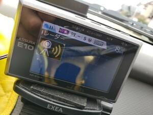 ●即決3000円 車載動作確認・データ更新済み ASSURA AR-E10A コンパクトワンボディ操作部一体型GPSレーダー探知機