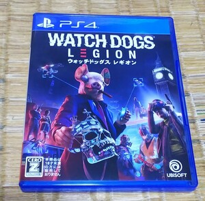 PS4 ウォッチドッグス レギオン watch dogs プレイステーション4 ソフト カセット