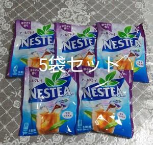 紅茶飲料 NESTEA アールグレイポーション 7個入り×5袋 ネスカフェ ネスレ