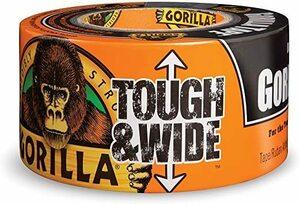 即決!新品♪ 黒 27.4m Gorilla(ゴリラ) 超強力ダクトテープ (73mm x 27.4m, 黒) [並行輸入品]