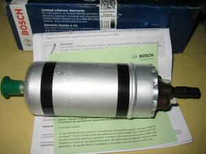 新品! BOSCH製アルファロメオ 33 75 SZ スパイダー115 燃料ポンプ フューエルポンプ 60546091/旧品番60742672