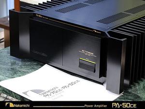 Nakamichi PA-50CE ♪ナカミチ STASIS回路搭載 パワーアンプ♪【ケア済/美品】