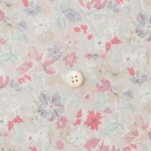 リバティ 生地 California Bloom カリフォルニアブルーム ピンク タナローン チェックアンドストライプ c&s