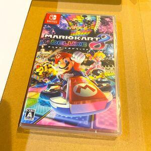 【新品未開封】 マリオカート8 デラックス Nintendo Switch