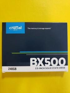 新品未開封 Crucial SSD 240GB BX500