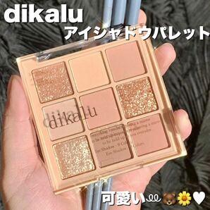 【dikalu】アイシャドウ パレット 9色 コンパクト 海外コスメ #01