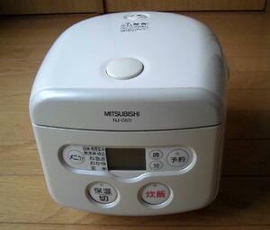 【送料無料】炊き込みご飯、炊飯調理専用機に 「三菱マイコンジャー炊飯器 3合炊き」
