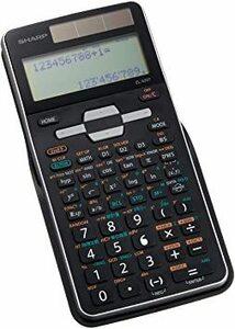 新品 ブラック 幅80×奥行166×高さ15(mm) シャープ 関数電卓 ピタゴラス アドバンスモデル 54A8