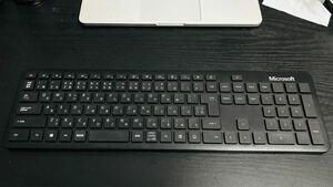 Microsoft キーボード Bluetooth ブラック 日本語