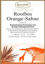 ドイツ発 【ロンネフェルト】 Rooibos Orange-Sahne(ルイボス-オレンジクリーム)880円 ★ 即決