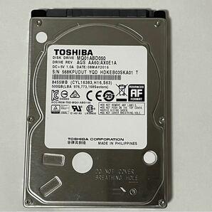 2.5インチHDD TOSHIBA MQ01ABD050 500GB