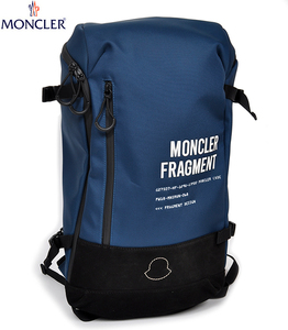 新品13万 モンクレール ジーニアス ヒロシ フジワラ バックパック リュック 鞄 (ブルー)MONCLER GENIUS 7 FRAGMENT HIROSHI FUJIWARA