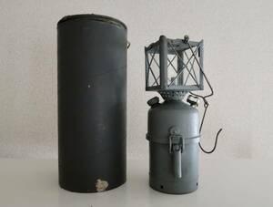 未使用品 40's 50'sスウェーデン軍 PUNKER 80 カーバイドランタン オリジナルケース&PRIMUSプリッカー付き/ビンテージカーバイトランプ