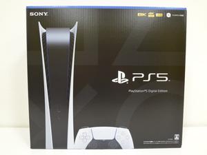 ♪軽量化 新型PS5! PlayStation5 本体 CFI-1100B01 デジタルエディション ◇ 未開封 即決 送料無料 ◇